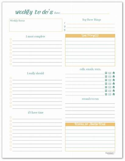 Weekly Daily Printables Days Bright Busy Focus