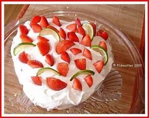 Torte Mit Erdbeeren : limetten torte mit erdbeeren ein kochmeister rezept ~ Lizthompson.info Haus und Dekorationen
