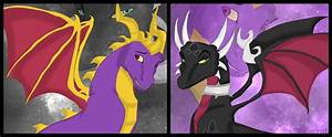 spyro and cynder by coolrat on DeviantArt