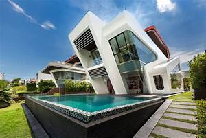 Villa Mistral: House on Sentosa Island - e-architect
