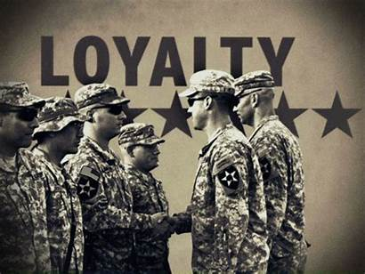 Army Military Soldier Values Loyalty Quotes Animated