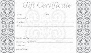 5 Best Images of Free Editable Printable Gift Certificates ...