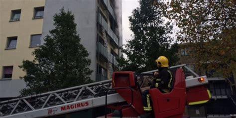 london fire brigade rescues   adair tower