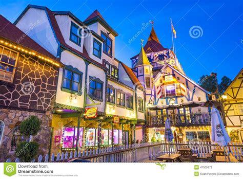 helen georgia usa bavarian town editorial stock photo