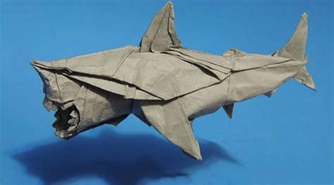 Great White Shark Folded Alex Satsukawa Origami