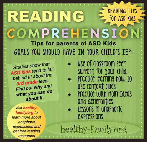Reading Comprehension Problems Tips And Tricks For Kids With Autism  Special Needs Students