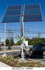 Solar Powered Electric Car Charger