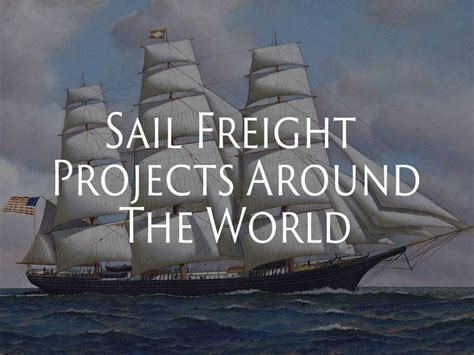 sail freight projects   world sailing dog dry goods
