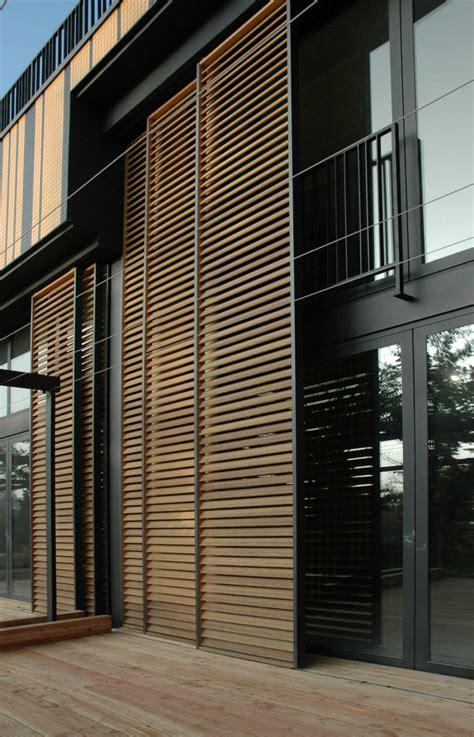 modern exterior shutters   stylish facade