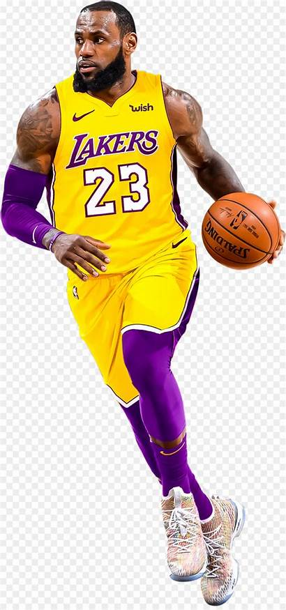 Lebron Lakers James Basketball Clipart Nba Transparent