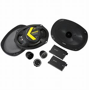 Kicker Car Speakers : kicker 46css694 car audio 6x9 component full range stereo ~ Jslefanu.com Haus und Dekorationen