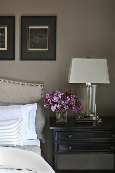 catherine kwong design ethereal bedroom with warm gray