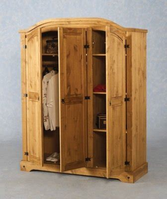 Mexican Pine 3 Door Wardrobe by Mexican Pine 3 Door Wardrobe For Sale In Swords Dublin