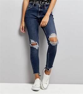 Jean Effiloché En Bas : jeans femme effiloche jean femme grande taille avec ourlet effiloche bleu jean femme grande taille ~ Dallasstarsshop.com Idées de Décoration