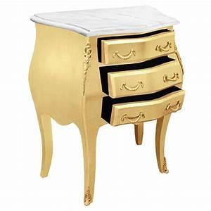 Table De Nuit Baroque : table de nuit chevet commode baroque bois dor plateau ~ Teatrodelosmanantiales.com Idées de Décoration