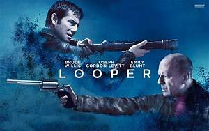 Looper Movie Poster - wallpaper.