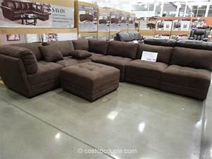 Marks and cohen taylor 7 piece modular sectional for Taylor sectional sofa and ottoman costco