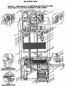 550 System View Diagram  U0026 Parts List For Model 550 Sub