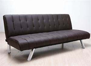Comfortably sleeping on the perfect leather sofa bed for Leather sofa bed