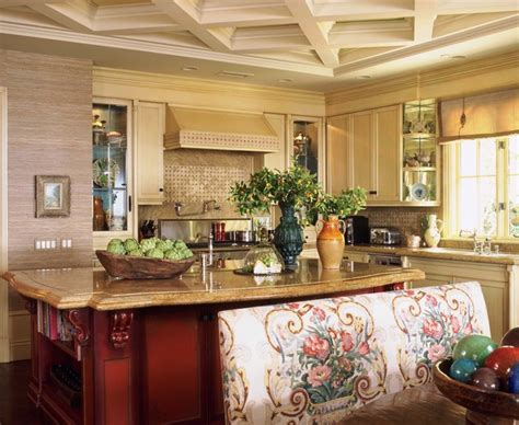 decorate kitchen island style in newport coast california traditional