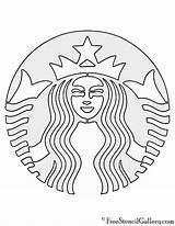 Starbucks Coloring Stencil Printable Coffee Drawing Pumpkin Pages Template Costume Diy Logos Crafts Birthday Cake Print Party Tumblr Freestencilgallery Cups sketch template