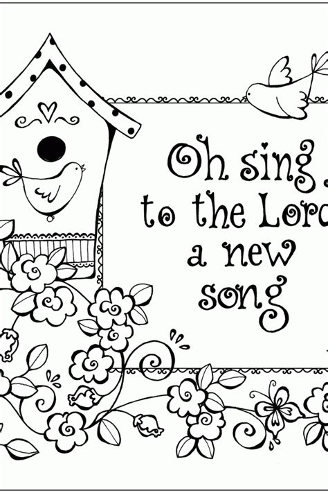 bible verse coloring page coloring home