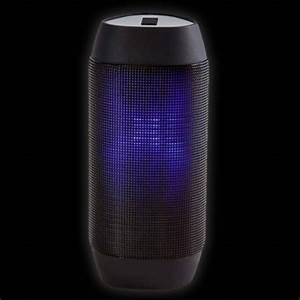 Sound Reactive Light Up LED Bluetooth Speaker