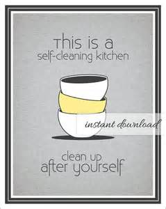 Magnificent Funny Quotes Keep Kitchen Clean Download Free Architecture Designs Viewormadebymaigaardcom