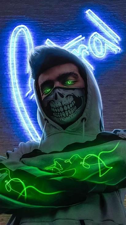 Neon Wallpapers Hacker Iphone Graffiti Gambar 4k