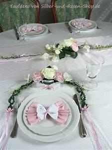 Taufe Deko Mädchen : tischgesteck rosa taufe m dchen tischdeko taufe deko taufe und tischgestecke ~ A.2002-acura-tl-radio.info Haus und Dekorationen