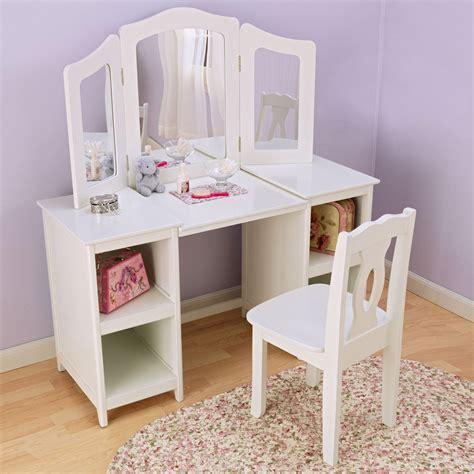 toddler vanity table kidkraft deluxe vanity chair 13018 bedroom