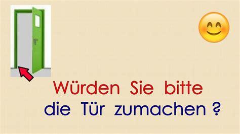 Deutsch Lernen Grammatik 16 Du  Sie (höflichkeitsform