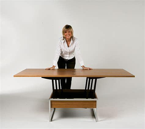 trendy la mesa de living funcional muebles
