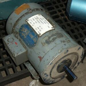 Electric Motor Information by Doerr Electric Corporation 601456dm771 Ac Motor 189 Hp H56c