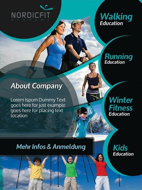 sports flyer templates  ms word psd ai