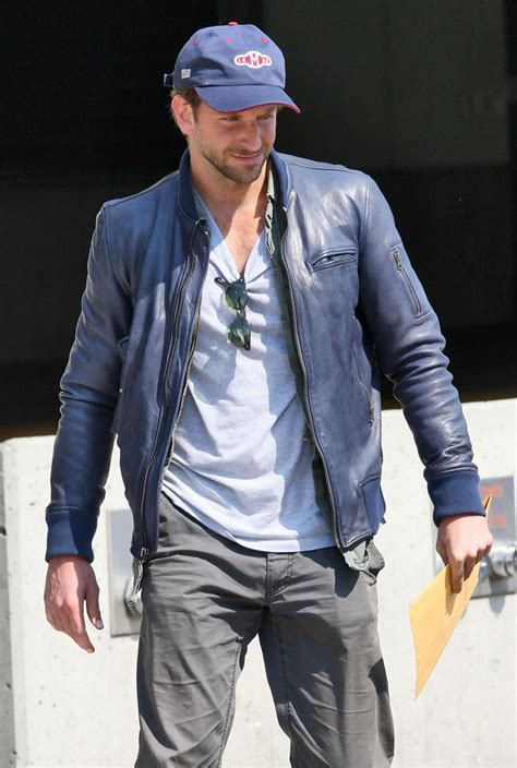 bradley cooper leather jacket bradley cooper