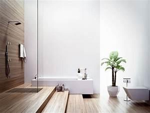 Plante Verte Salle De Bain : salle de bains design naturel 25 id es en belles photos ~ Melissatoandfro.com Idées de Décoration