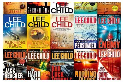 free download jack reacher books