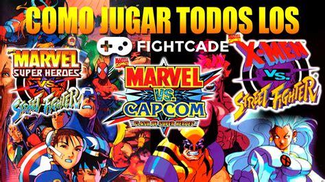 Fightcade Tutorial Como Jugar Marvel Vs Capcom Marvel Vs