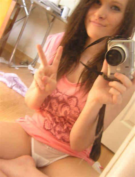 Girl self shot panties - many img