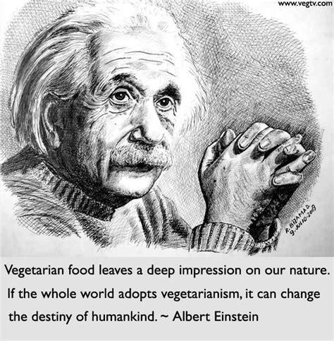 Vegetarianism Quotes Albert Einstein