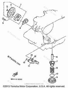Yamaha Atv 1992 Oem Parts Diagram For Oil Pump