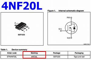 4nf20l Datasheet - Vdss 200v  Id 1a  N-ch Mosfet