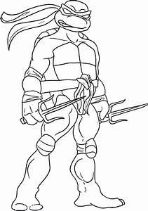 Colorear Dibujos De Tortugas Ninja Tmnt