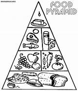 Pyramid Coloring sketch template