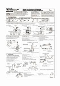 Mitsubishi Rg79v973h01 Air Conditioner Installation Manual