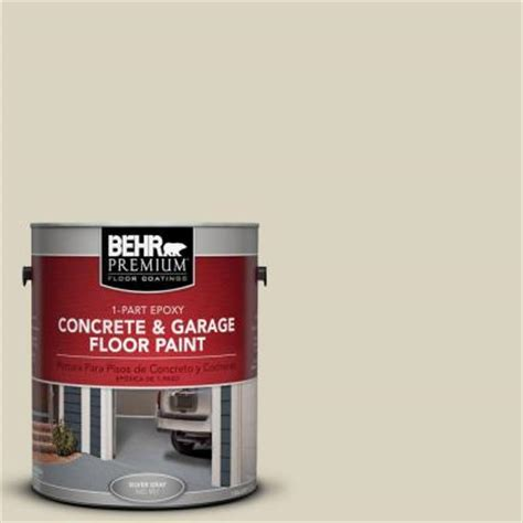 garage floor paint at home depot behr premium 1 gal pfc 31 traditional tan 1 part epoxy concrete and garage floor paint 90001