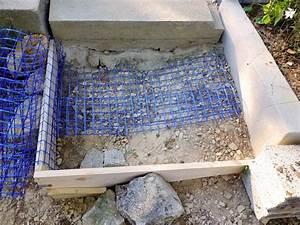 sacre chantier comment faire un escalier en beton With comment faire un escalier en beton exterieur