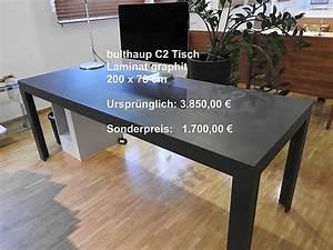 Bulthaup C2 Tisch : bulthaup musterk che c2 tisch graphit ausstellungsk che in mainz von u b magenheimer ~ Frokenaadalensverden.com Haus und Dekorationen
