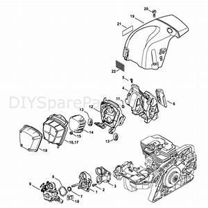 Stihl Ms 311 Chainsaw  Ms311  Parts Diagram  Carburetor